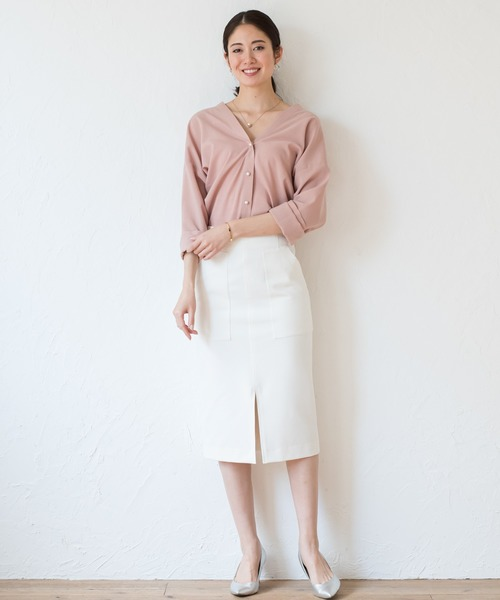 [Loungedress] ポケットタイトスカート