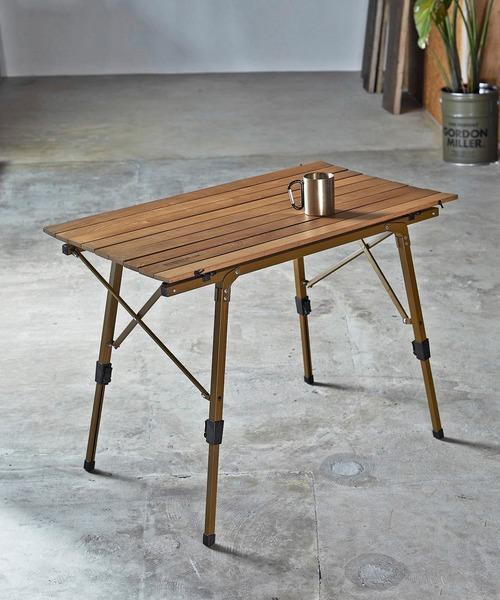 [JACK & MARIE] GORDON MILLER FOLDING TABLE (ゴードンミラー フォールディング テーブル)(COYOTE)(アウトドア)