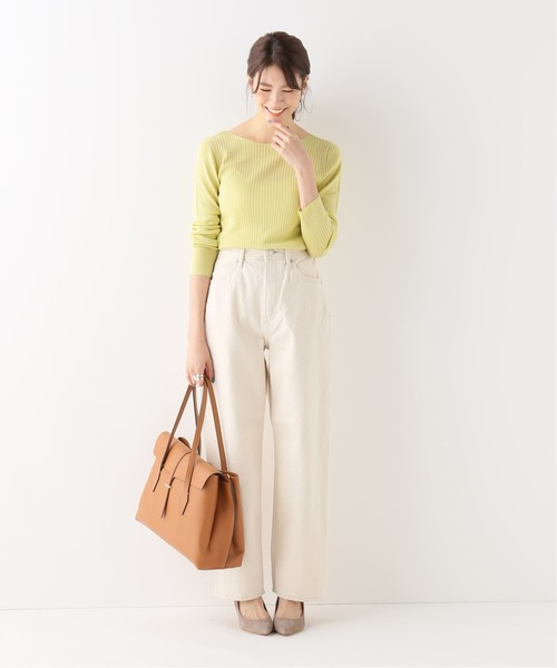 [IENA] 【YANUK/ヤヌーク】COLLEEN WIDE TAPERED ◆
