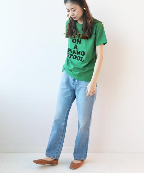 [JOURNAL STANDARD] TCテンジクロゴプリントTシャツ