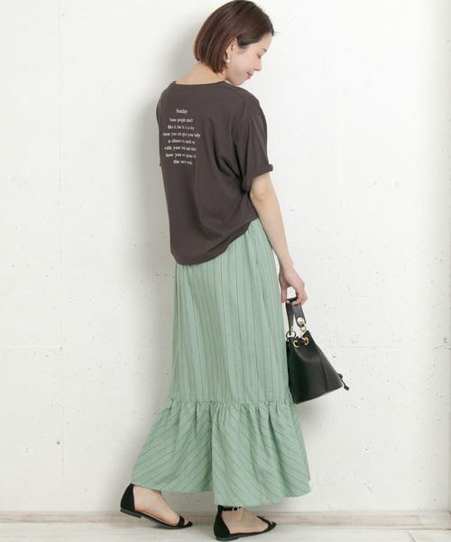 [URBAN RESEARCH] 【WEB限定】バックプリントルーズTシャツ