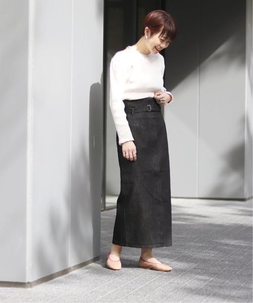 [JOINT WORKS] JW 10OZデニムミディタイトスカート