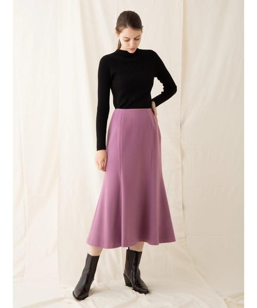 [Ailand] ビーバーナローウールスカート