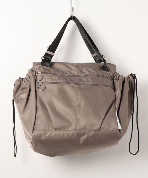 [SAC'S BAR Jean] 【SALON de RUBAN / サロン ドゥ リュバン】 レジかご対応10ポケットバッグ
