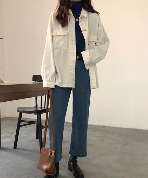 [MKT] オーバーサイズ デニムシャツジャケット