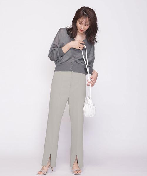 パンツを使ったレディースファッションLIST2