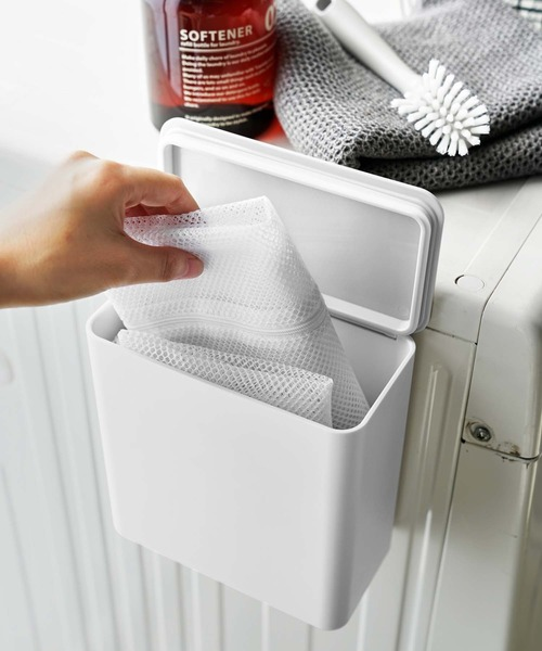 [CIAOPANIC TYPY] 【tower/タワー】マグネット洗濯洗剤ボールストッカー 4266
