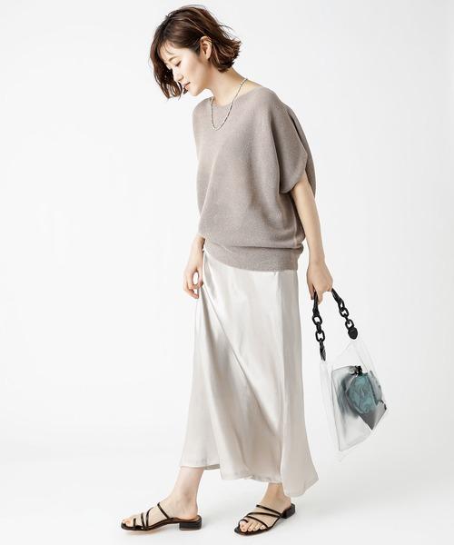 [RIVE DROITE] サテンマーメードスカート