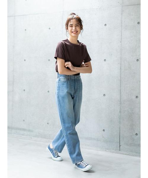 [koe] クルーネックTシャツ*