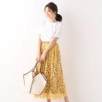 ワンツーコーデで着映えが狙える♡夏にこそ穿きたいカラースカート15選