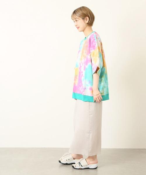 [JOURNAL STANDARD] Tie Dye ビッグシルエット ライトウェイト スウェットTシャツ
