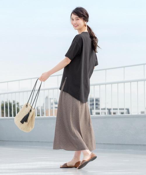 [GLOBAL WORK] ペーパー巾着ショルダ/876389