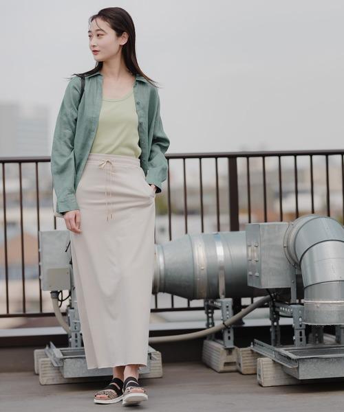 [niko and...] ストレートマキシスカート
