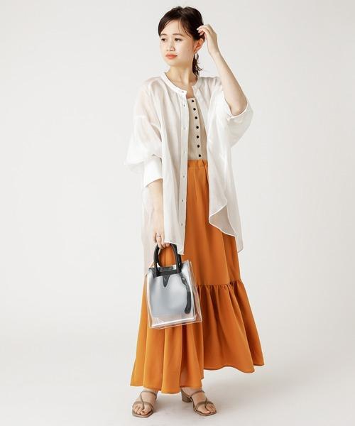 [mystic] シャイニー3WAYスカート