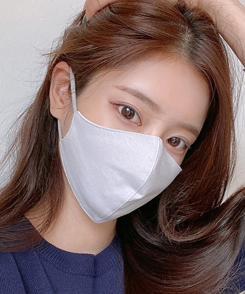 [3rdSpring] CHUU(チュー)ベーシックコットン混マスク