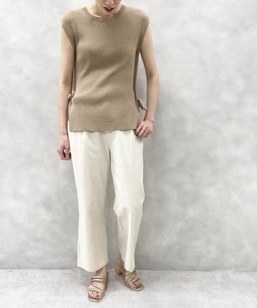 [natural couture] チューブヒモミュールサンダル