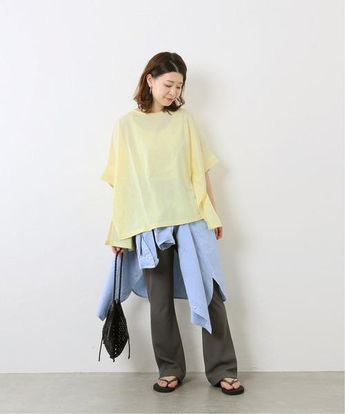 [JOURNAL STANDARD] 【NEU】シルキーコットンワイドTシャツ