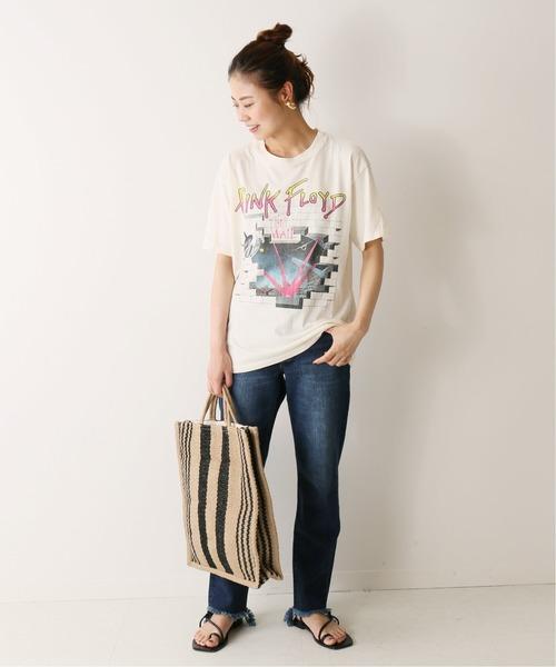 [JOURNAL STANDARD] 【DAYDREAMER/デイ ドリーマー】 PINK FLOYD WHITE:Tシャツ