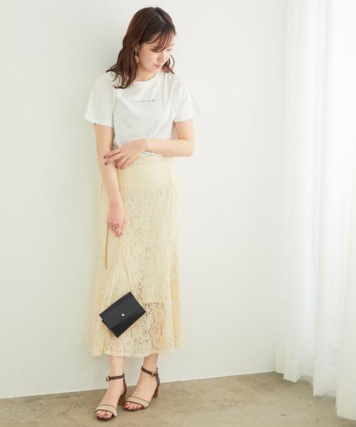 [ROPE' PICNIC] 【一部店舗限定】マーメイドレーススカート