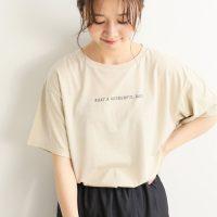 プリントTシャツで遊び心を演出♪ラフに楽しむ大人女子の夏コーデ15選