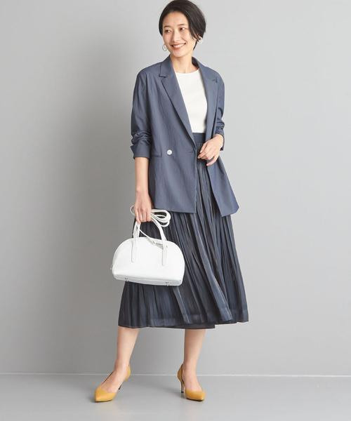 [green label relaxing] 【WORK TRIP OUTFITS】★WTO CS ツヤスカート