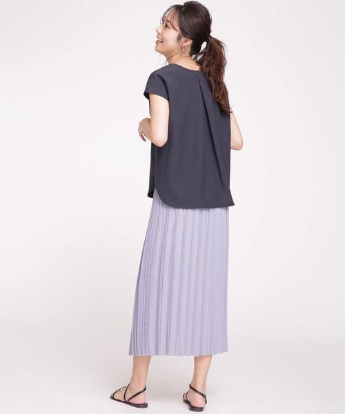 夏 スカートスタイル