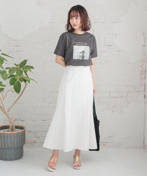 [kobelettuce] デニムマーメイドスカート