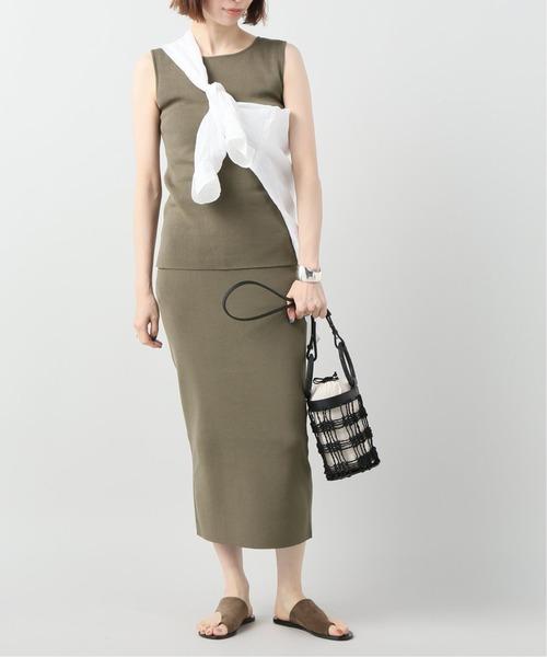 [Plage] CO/NY Tight スカート◆