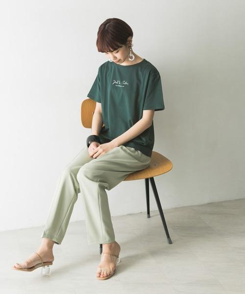 [URBAN RESEARCH] エンブロイダリーロゴTシャツ