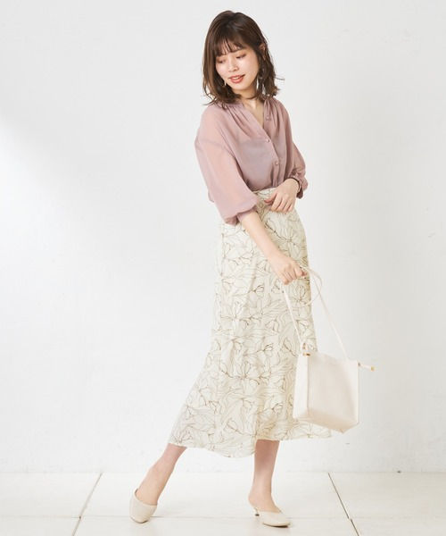 [natural couture] プチハイシアーブラウス
