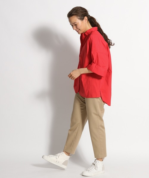 [niko and...] マーセビッグショートシャツ