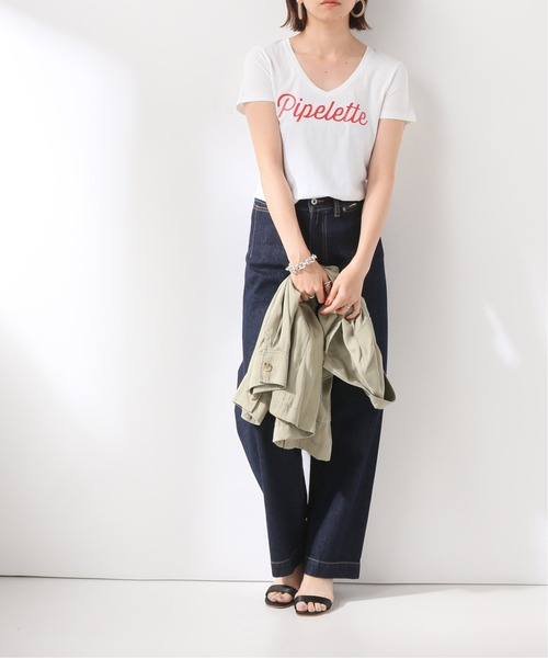 [IENA] 【FRENCH DISORDER】 Dolly PIPLELETTE Tシャツ◆