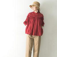 肌寒い日もじめじめもリネンなら快適♡リネンシャツ&ブラウスコーデ特集