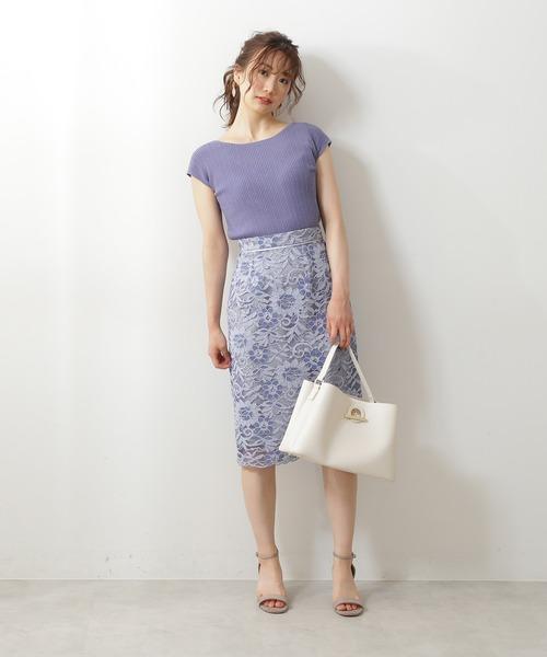 [PROPORTION BODY DRESSING] エルフィンレースタイトスカート