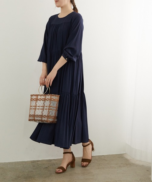 [ROPE' PICNIC] 【一部店舗限定】ティアードワンピース