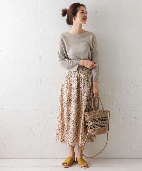 [URBAN RESEARCH DOORS] ランダムドロップスカート