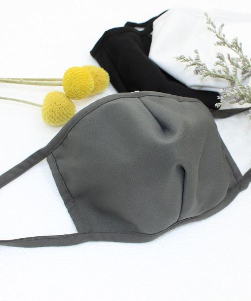 すぐに乾く3D立体型マスク
