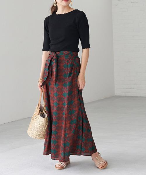[ROPE' PICNIC] アフリカンマーメイドスカート