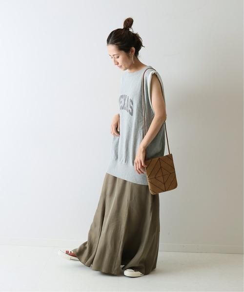 [Spick & Span] 【VOTE MAKE NEW CLOTHES】 ノースリーブスウェット◆