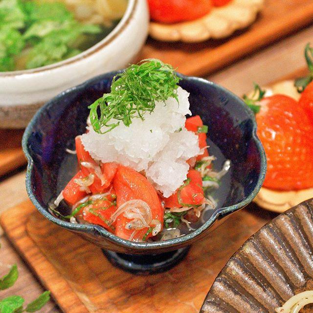 トマトを使った簡単な和食レシピ10