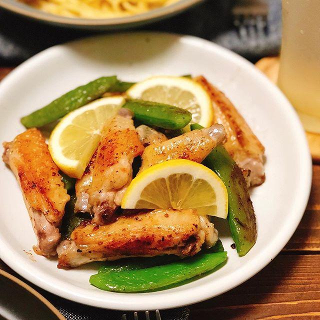鶏肉を使った洋食メニュー!チキンスペアリブ