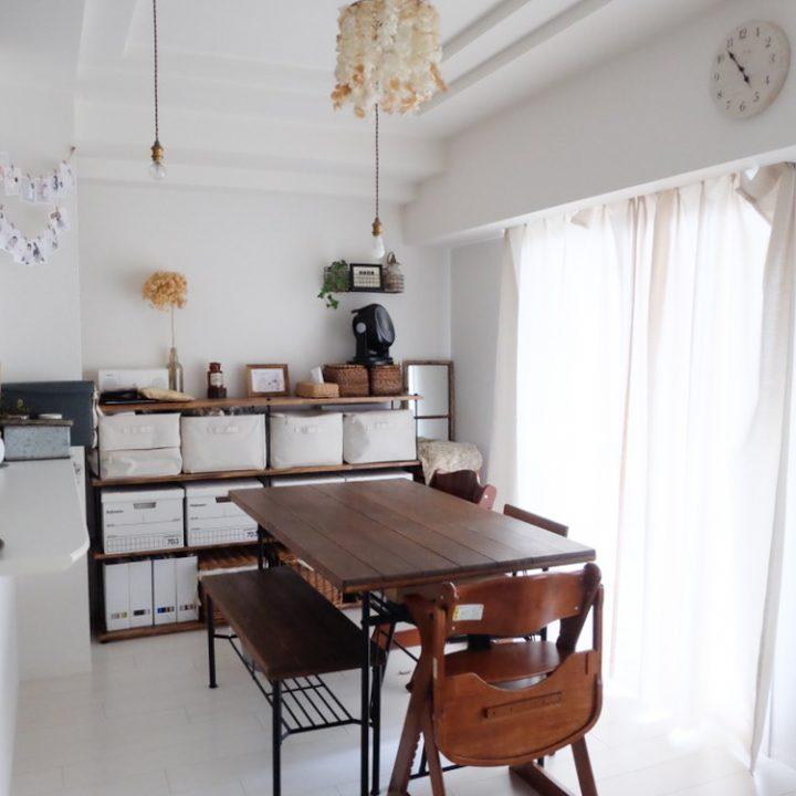 DIYの家具がぴたりとフィット2