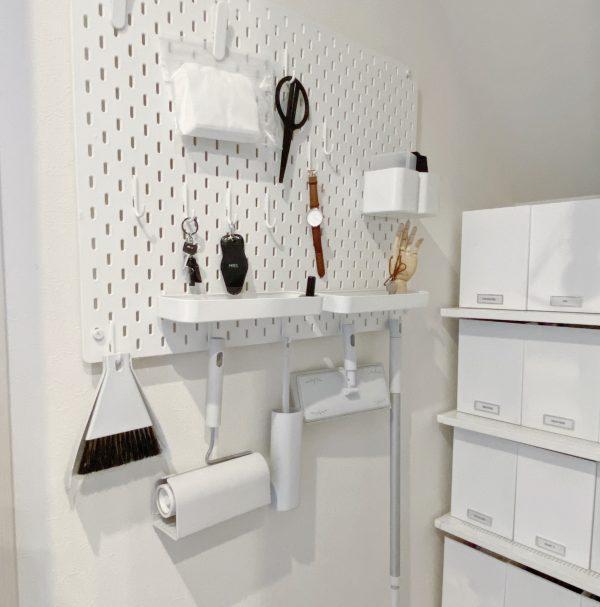 IKEAのペグボード