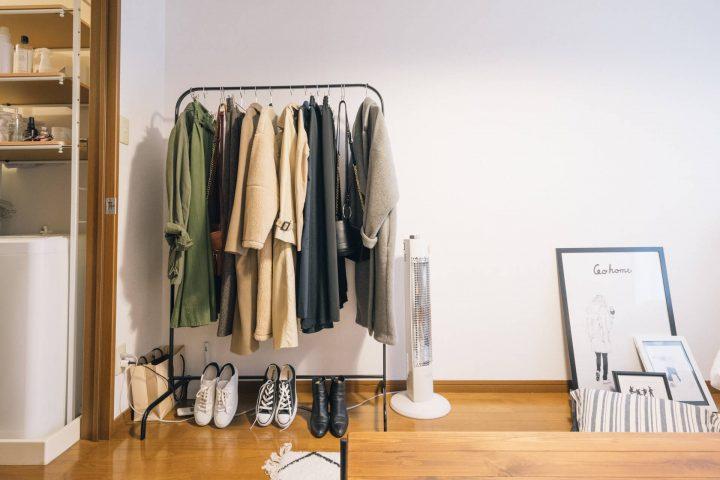 アイディア3:よく着る服は、「しまわない」