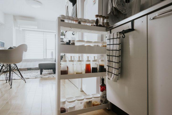 キッチンと冷蔵庫の間の隙間