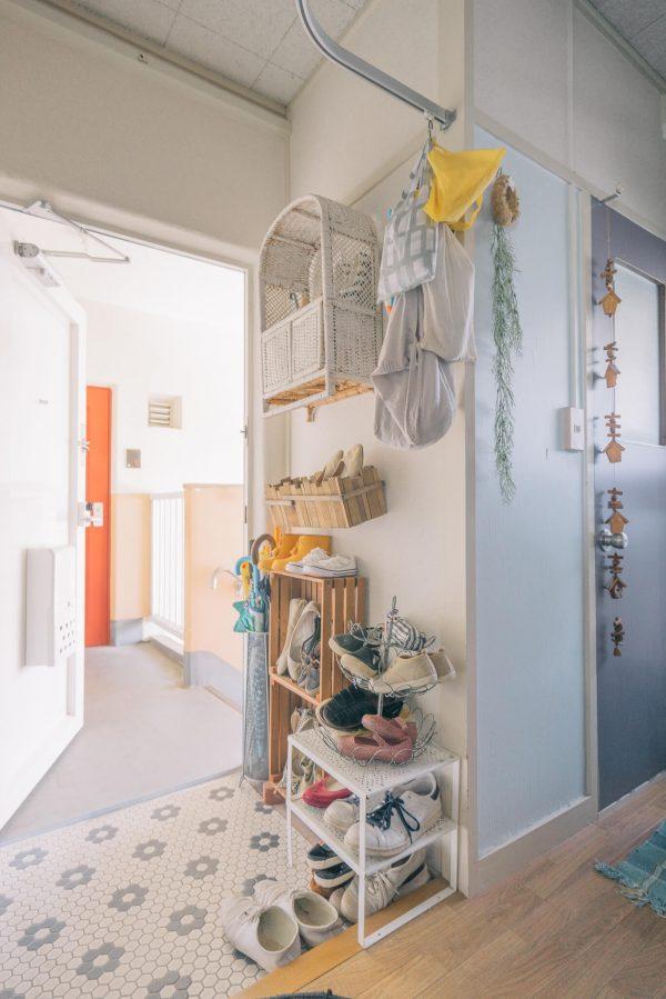 玄関の靴の収納アイディア3