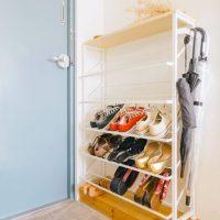 狭くてもすっきり片付く。玄関の靴の収納アイディアを見せて!