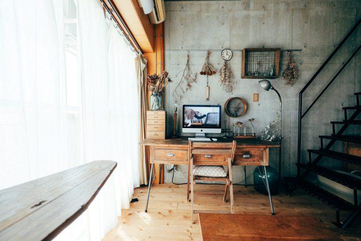 好きなコンクリート壁のある空間をとことん磨きあげる。