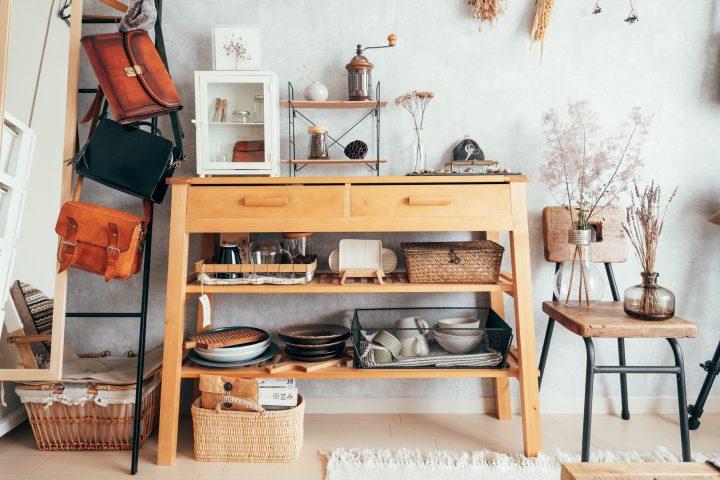 素材と想いを持ったインテリアが部屋の心地良さを作る。