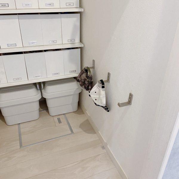 IKEAの折りたたみフック